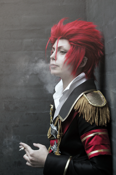 Mikoto Souh smoke by ShadowFox-Cosplay