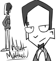 Adult Matthew P Mathers concept thingy by ReneesRetrograde
