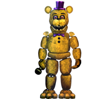 FNAF2 - Fredbear -Commission- by Christian2099