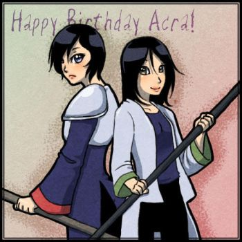 Acra Birthday Gift by StarRaven