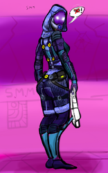 Tali of course ! by CHAOSminiMARINE