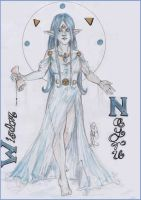 Nayru, Goddess of Wisdom by the-infamous-padfoot