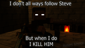 The most Interesting man In Minecraft by newdeal666