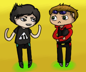 Yogscast Parv And Strife by pinkflora12