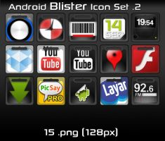 Android Blister Icon Set v2 by mhut