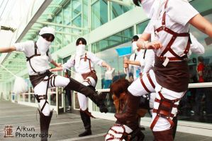 Too many Rivaille, only one Eren by Alkun00