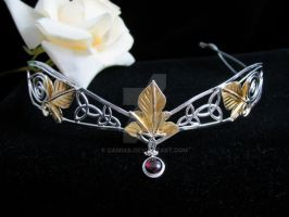 Bridal Celtic Headpiece by camias