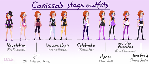 Carissa LoliRock Stage Outfits by Lora777