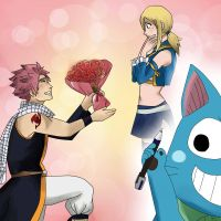 Power of the Pen - NaLu by chiyuu-kun