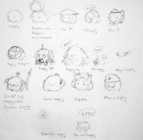 The Many Faces of Loppy by Feylore
