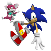 Sonic and Chip by Mike9711