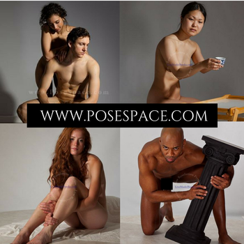 www.posespace.com by livemodelbooks