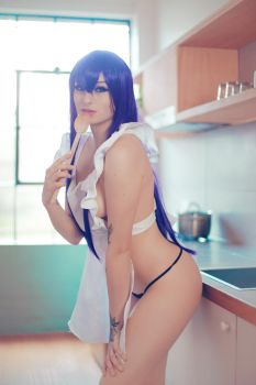 Saeko - High School of the Dead by KaylaErinOfficial