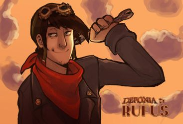 Rufus of Deponia by N-A-R-I