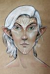 Dragon age elf by HopesArtGallery