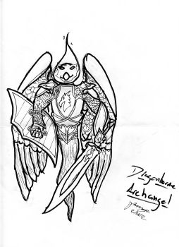 The Archangel Paladin of Bahamut by Freelancer521