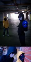 S.I.K 04 - Eyeless Jack and Hoodie Cosplay by MHD0524