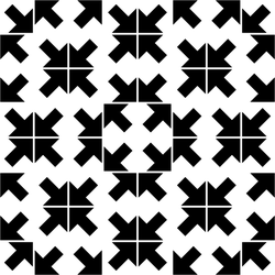 Tilted Arrow Pattern 4 by andydiehl