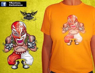 Rey misterio r by GerardoYAred
