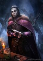 Roose Bolton, Lord of Winterfell by MihaiRadu
