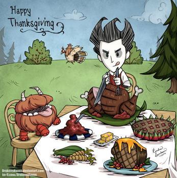 Happy Thanksgiving by DrakensHaven