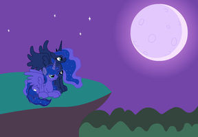 (Very Late)OC Request: Mother and Son of the Night by IronwoodAKACleanser