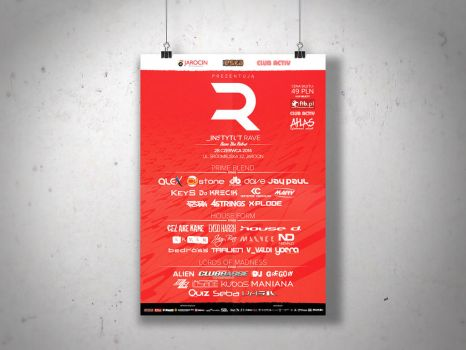 Graphics Design - Instytut Rave Identity by DoliwaWorkshop
