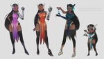 Overwatch's Symmetra [with video!] by Estherella