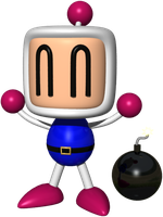 Cheery BomberMan by JohnK222