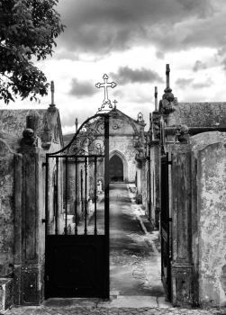 Cemetery of Porto de Mos, Portugal by vmribeiro