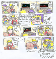 Randomness Comix - Inner Nerd by DragonBlast71