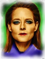 Jodie Foster by JV-Andrew