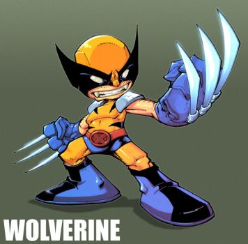 Baby Wolvie by Red-J