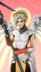 Mercy - The Angel by DarknessRingoGallery