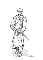russian soldier 01 by Stachir