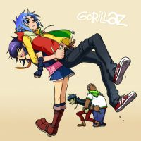 Gorillaz by kohn-nz