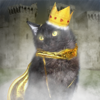 The King Cat by SnowySeal