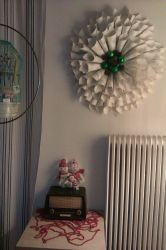 Paper Cone Christmas Wreath by Maelamin