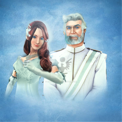 Duke Hector and Duchess Victoria of Soleanna by rickolocity