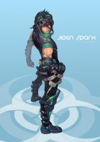 Commission : Jiden Sparx by bayanghitam