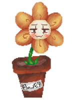 Flowey by MrPoetates
