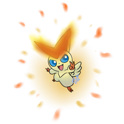Victini by Avi-the-Avenger