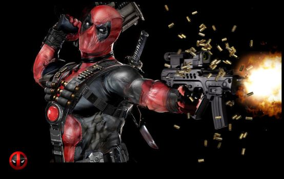 Deadpool by uncannyknack