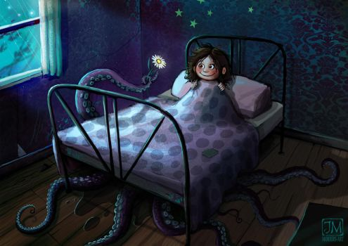 Not really a monster under the bed by jerry8448