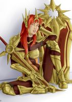 Leona, the Radiant Dawn by The-Piojolopez