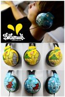 Monuments Headphones by Bobsmade