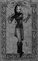 Knave of Swords by TheWildGrape