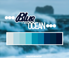 Blue ocean by iSmileLikeMe