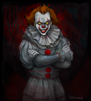 Pennywise by Sipr0na