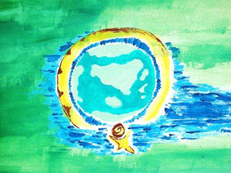 World on the Yellow Man by AyanC